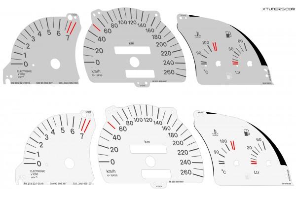 Opel | Vauxhall Calibra Turbo dials