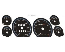 Opel | Vauxhall Corsa A, Nova dials