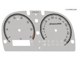 Opel | Vauxhall Speedster, VX220 dials