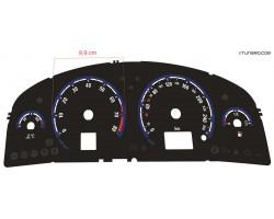 Opel | Vauxhall Vectra C, Signum pre-facelift OPC / VXR design dials
