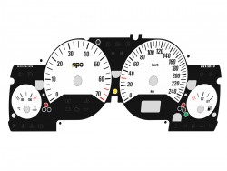 Opel | Vauxhall Astra G, Zafira A DTi, OPC, GSi, Coupe Turbo, Bertone Cabriolet dials  OPC 1 Design