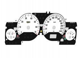 Opel | Vauxhall Astra G, Zafira A DTi, OPC, GSi, Coupe Turbo, Bertone Cabriolet dials  OPC 1 Design