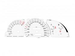 Opel | Vauxhall Calibra C20LET Turbo dials