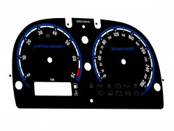 Opel | Vauxhall Speedster, VX220 plasma dials