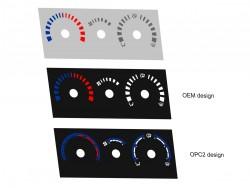 Opel | Vauxhall Speedster, VX220 heater panel dials