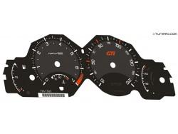 Peugeot 206 dials