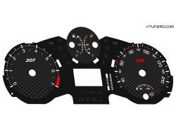 Peugeot 207 GTI RC, HDI dials