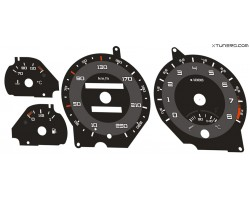 Peugeot 306 phase 1 GTI 6, S16 dials