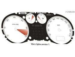 Peugeot 307 CC, HDI dials