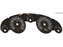 Peugeot 407 GT Coupe, HDI dials