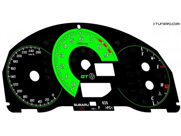 Toyota GT86, 86, FT86 dials