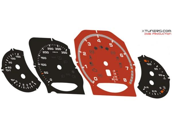 Porsche Cayenne 957 958, Panamera 970 ( facelift ) 4-S-4S-GTS-Turbo-S-Diesel dials