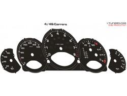 Porsche 911 ( 997 ) Carrera S-4-4S dials