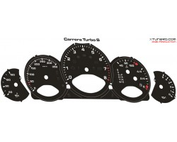 Porsche 911 (997) Turbo-S dials