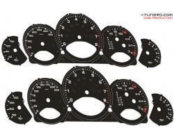 Porsche 911 (997) Turbo dials