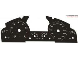 Porsche Cayenne 955 Turbo-S dials