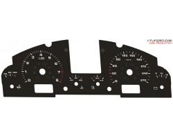 Porsche Cayenne 955 S-GTS non turbo dials
