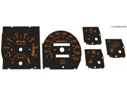 Renault 5 GT Turbo dials