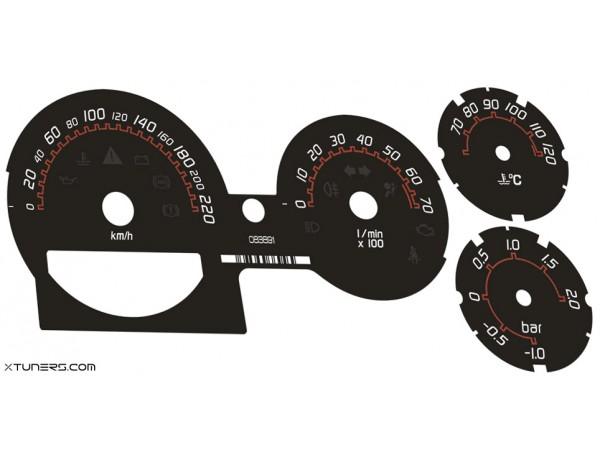 Smart 452 Roadster Brabus dials