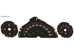 Smart Fortwo W451 Brabus dials
