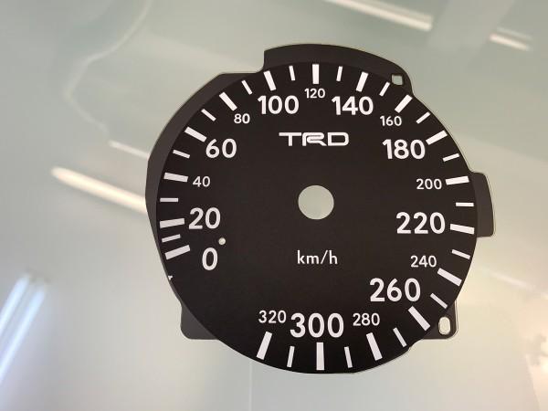 Toyota Supra MK4 Series 1 LHD 10K, 320 km/h TRD dials