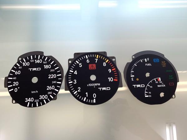Toyota Supra MK4 Series 1 RHD 10K, 340 km/h TRD dials