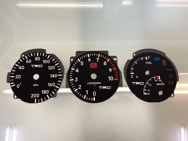 Toyota Supra MK4 Series 1 RHD 10K, 200 MPH TRD dials