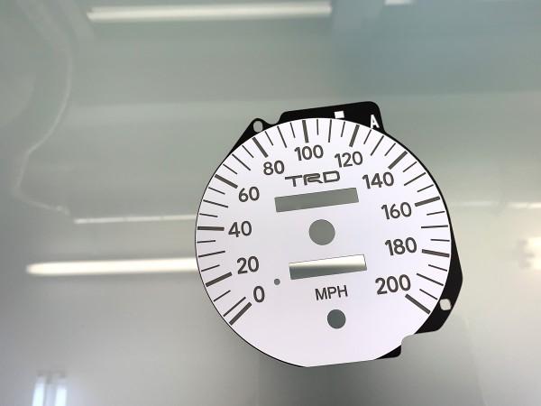 Toyota Supra MK4 Series 2 RHD 10K, 200 MPH TRD dials