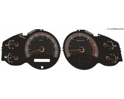 Toyota Land Cruiser J100, Lexus LX470 dials