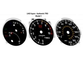 Toyota Supra MK4 preface TRD authentic dials