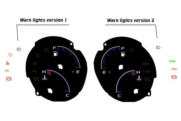 Toyota Supra MK4 preface Xtuners design 1 dials