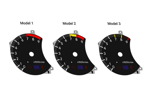 Toyota Celica 6G ST205 GT-Four dials