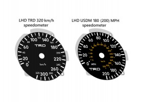 Toyota Supra MK4 Series 1 LHD TRD dials