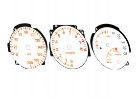 Toyota Supra MK4 Series 1 custom made dials