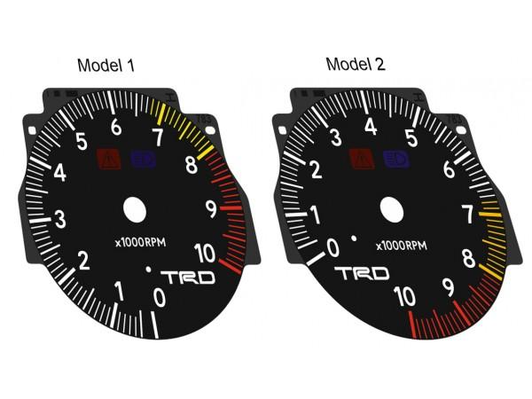 Toyota Supra MK4 Series 2 RHD TRD 320, JDM, USDM dials