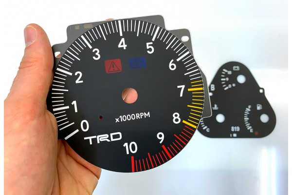 Toyota Supra MK4 MKIV RHD facelift TRD 320, JDM, USDM dials