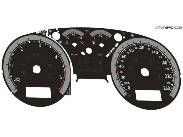 VW Golf MK4 EURO SPORT IMMO3, IMMO2 Highline / Midline MFA dials