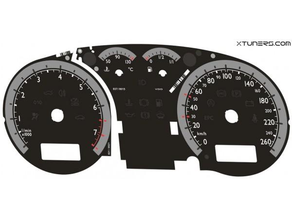 VW Golf МК4 VDO Highline / Midline MFA, no MFA dials - ALL MODELS