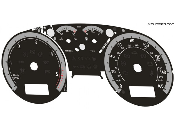VW Golf MK4 UK SPORT IMMO3, IMMO2 Highline / Midline MFA dials