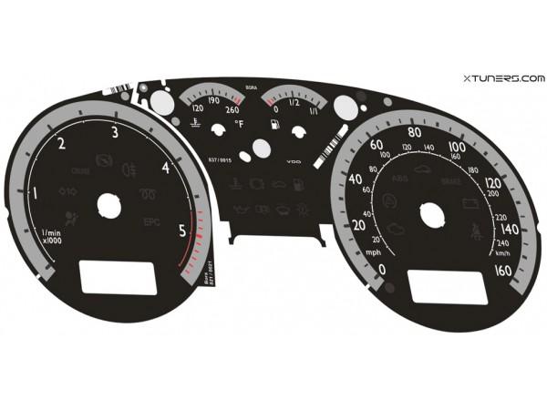 VW Golf MK4 US SPORT IMMO3, IMMO2 Highline / Midline MFA dials