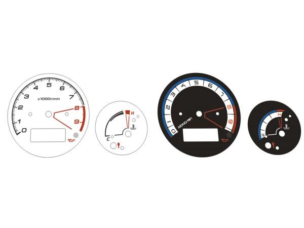Yamaha TDM 900 dials